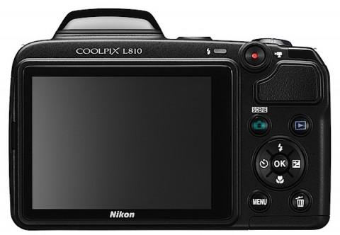 Nikon Coolpix L810 LCD