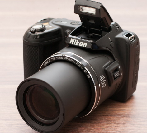 the new Nikon Coolpix L810