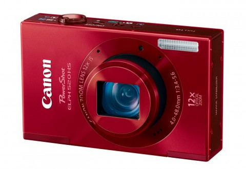 Canon ELPH 520 HS red body color image