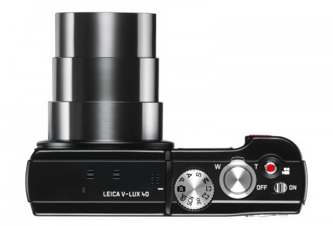 Leica V-Lux 40 controls detail