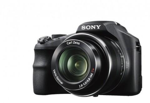 Sony HX200V lens detail