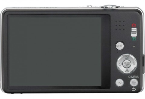 Panasonic Lumix FH8 display image