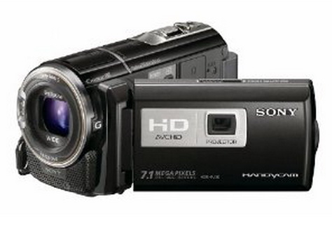 Sony HDR-PJ30V with GPS and projector