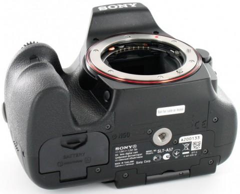 Sony a57 body image