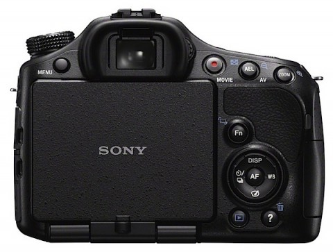 Sony a57 rear view