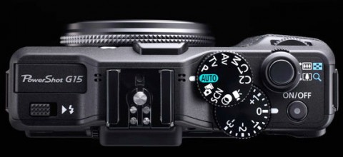 The detail of Canon G15's controls