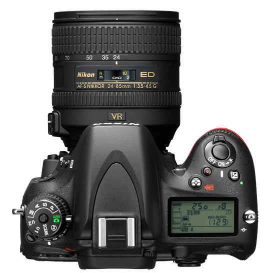 Nikon D600 controls image