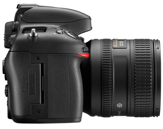 Nikon D600 DSLR camera with lens