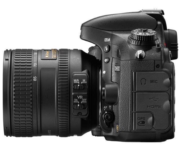 the lens of Nikon D600