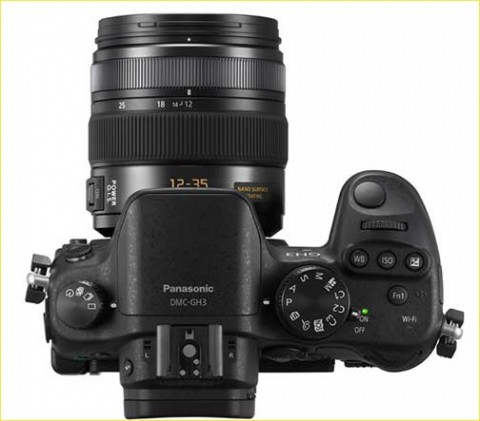 Panasonic GH3 with lens