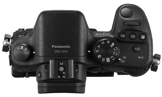 Panasonic Lumix GH3 controls detail