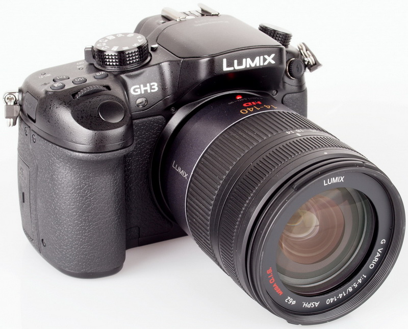Panasonic Lumix GH3 lens detail