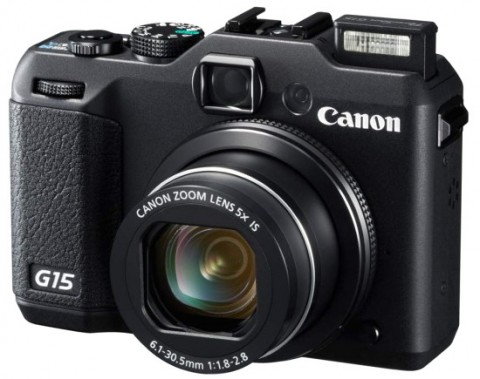 PowerShot G15 high-end compact camera