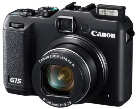 PowerShot G15 high-end compact camera