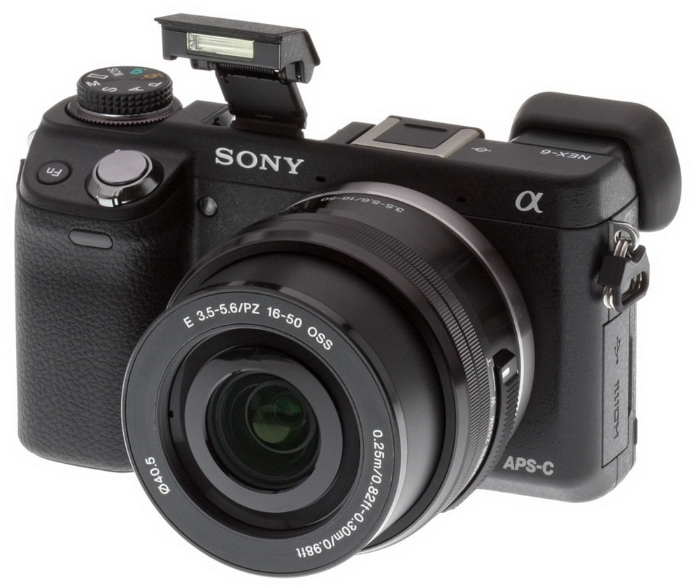 Sony Nex-6 front picture