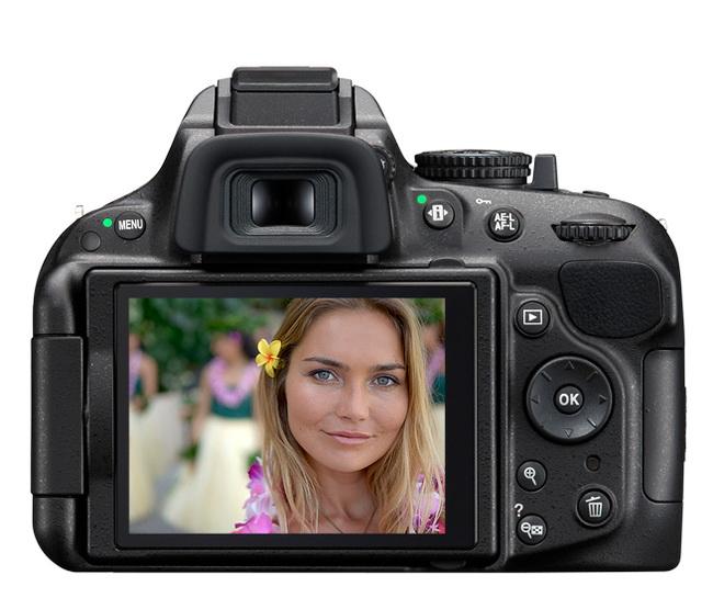 Nikon D5200 LCD monitor