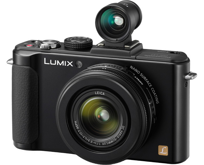 Panasonic LX7 with external viewfider