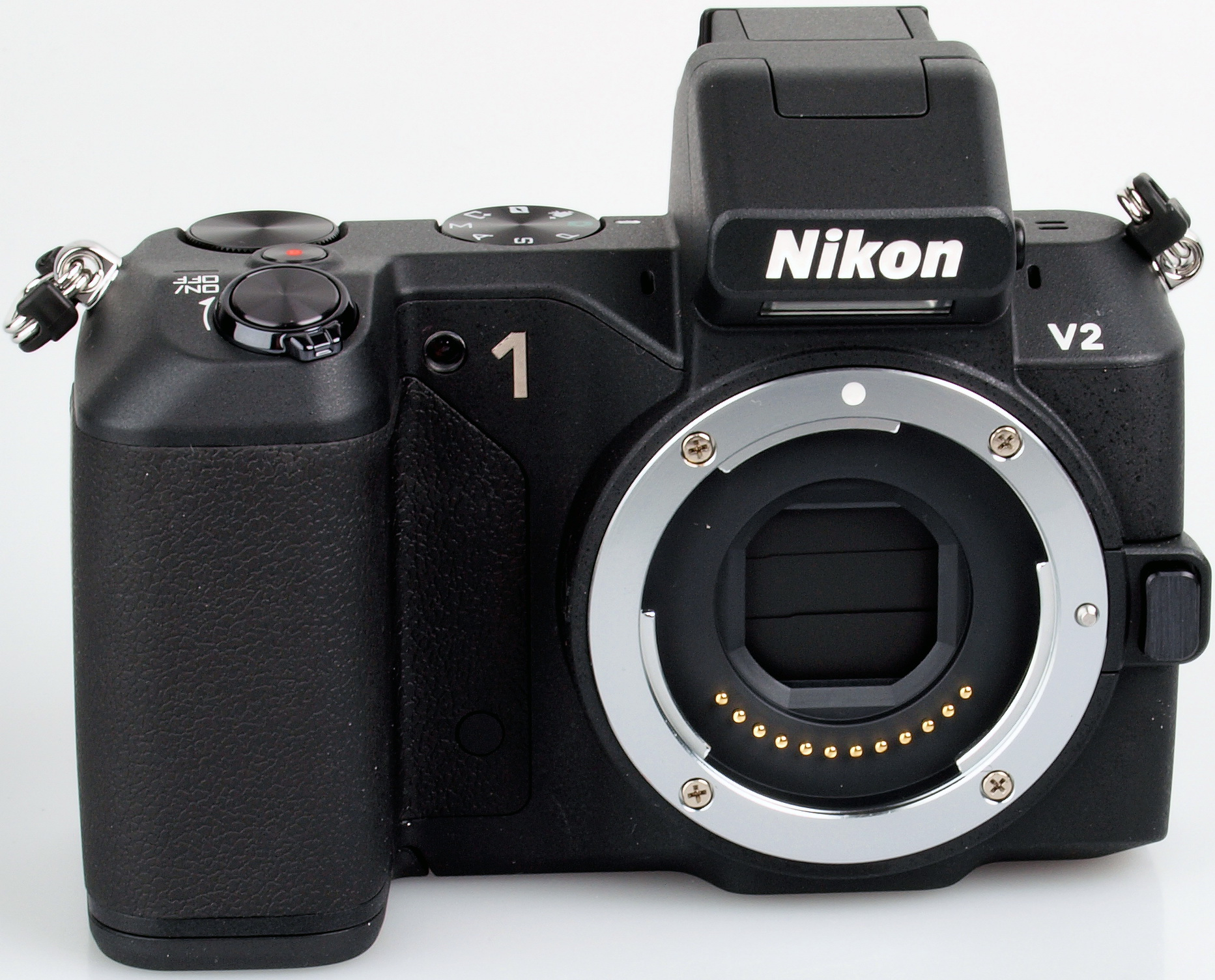 The new V2 mirrorless interchangeable lens camera from Nikon