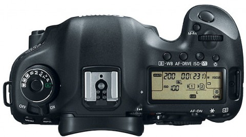 The controls details of EOS 5D Mark III