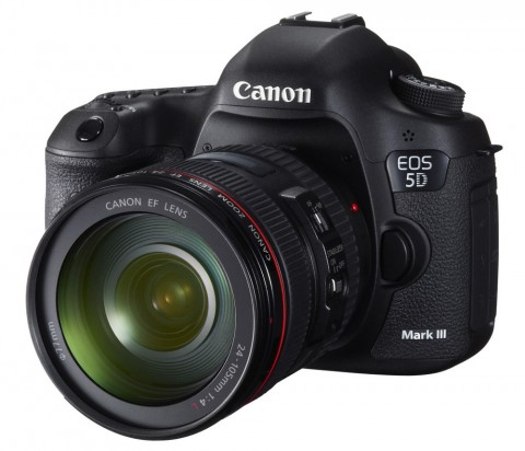 The EOS 5D Mark III from Canon