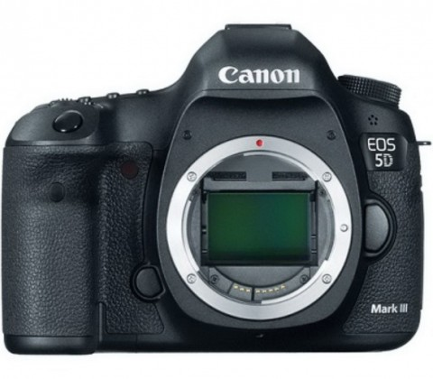 EOS 5D Mark III body detail