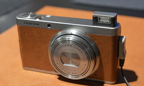 The XF1 retro-style camera from Fujifilm