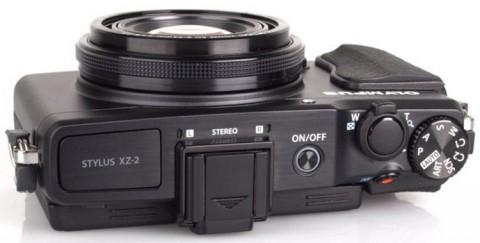 Olympus XZ-2 controls detail