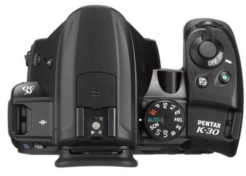 Pentax K-30 controls detail