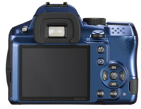 The LCD monitor of Pentax K-30