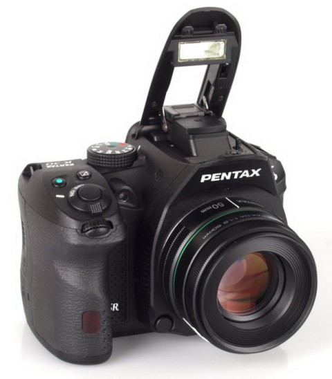 Pentax K-30 with popup flash
