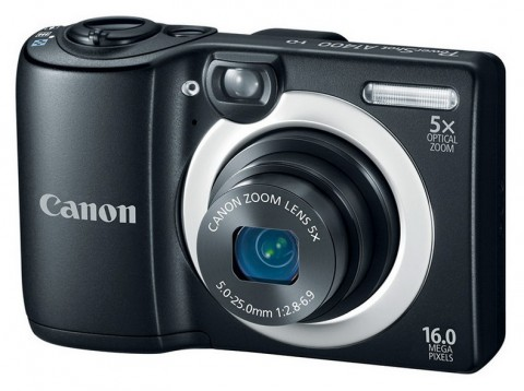 The A1400 compact point-and-shoot camera from Canon