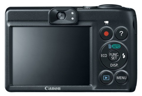 Canon A1400 LCD detail