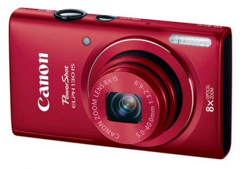Canon ELPH 130 IS red