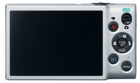 The LCD monitor of Canon ELPH 130 IS