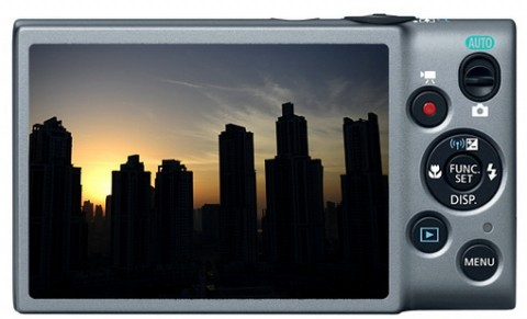 Canon Ixus 140 display