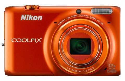 Nikon Coolpix S6500 orange