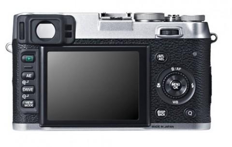 The LCD monitor of Fujifilm X100S