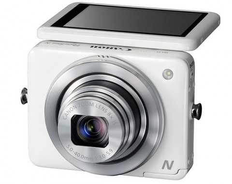 PowerShot N new compact camera from Canon