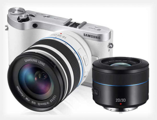Samsung NX300 with interchangeable lens