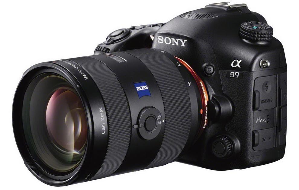 Sony Alpha a99 premium SLT camera