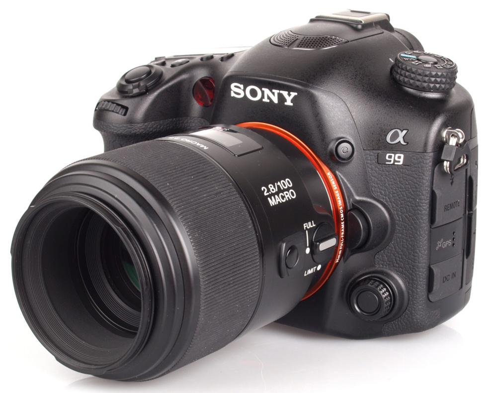 Sony a99 with lens