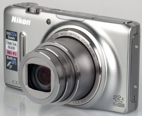 The Nikon S9500 with 22x optical zoom