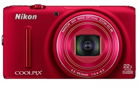 Nikon S9500 in red