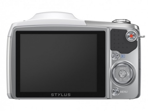 The display of Olympus SZ-16