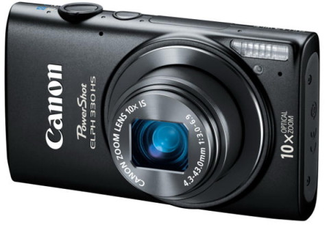 The ELPH 330 HS compact camera from Canon
