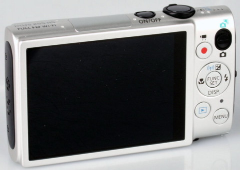 The LCD monitor of Canon ELPH 330 HS