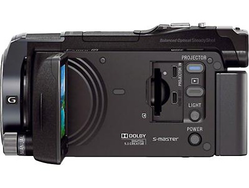 Sony HDR-PJ650 high-definition camcorder