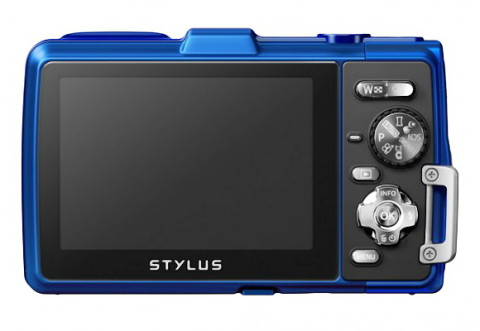 The LCD display of Olympus TG-830 iHS