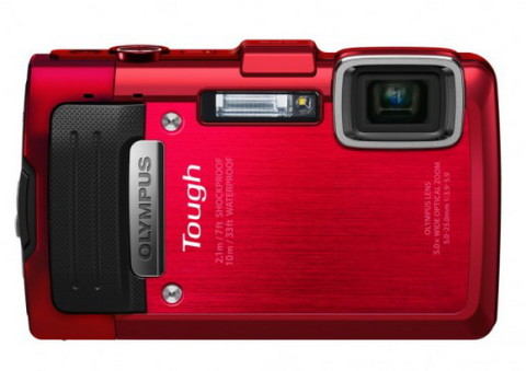 Olympus TG-830 iHS red