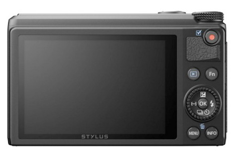 Olympus XZ-10 display